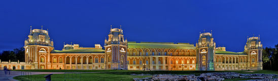 Tsaritsino Palace Royalty Free Stock Images
