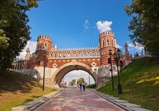 Tsaritsino palace - Russia Moscow Stock Photo