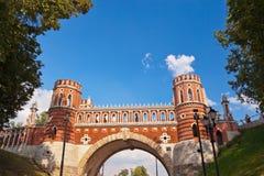 Tsaritsino palace - Russia Moscow Stock Image