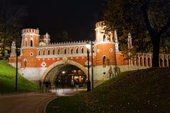Tsaritsino Park Royalty Free Stock Photos