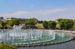 Tsaritsino Park in Moscow Stock Photo