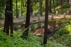 Tsaritsino park - Russia Moscow. Tsaritsino park - Russian museum at Moscow Royalty Free Stock Image