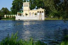 Tsaritsyn pavilion in Peterhof, St. Petersburg, Russia Stock Photo