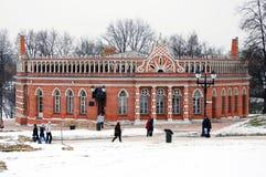 Tsaritsyno公园在莫斯科 免版税库存照片