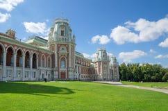 Tsaritsyno公园,莫斯科,俄国结构 库存图片