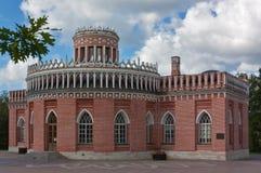Tsaritsyno公园,莫斯科 免版税库存照片