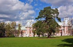 Tsaritsyno公园,莫斯科 免版税库存图片