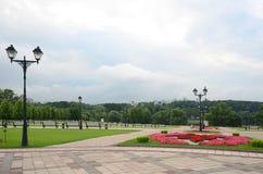 Tsaritsyno公园,莫斯科 库存图片