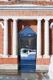 Tsaritsyno公园建筑学在莫斯科 免版税库存照片