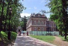 Tsaritsyno公园 莫斯科 免版税库存图片
