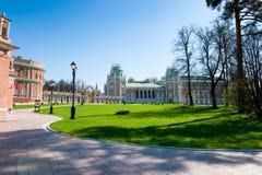 Tsaritsyno博物馆公园 图库摄影
