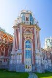 Tsaritsyno宫殿在莫斯科,俄罗斯 免版税库存照片
