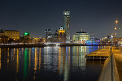 tsaritsyno νύχτας της Μόσχας Στοκ Φωτογραφία