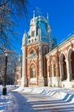 Tsaritsyno в Москве Стоковое Изображение