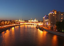 tsaritsyno ночи moscow Стоковые Фотографии RF