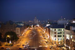 tsaritsyno ночи moscow Стоковое Изображение