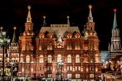 tsaritsyno ночи moscow стоковые изображения