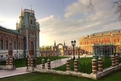 Tsaritsyno. Moscow park palace band of Tsaritsyno Stock Image