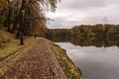 Tsaritsyno. Autumnin in the Park. royalty free stock photos