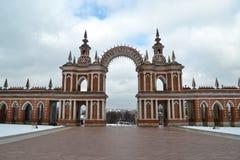 Tsaritsyno en Moscú Foto de archivo libre de regalías