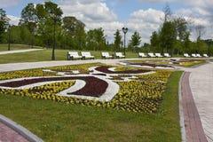 tsaritsyno för godsmoscow park Fotografering för Bildbyråer