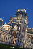 Tsaritsyno - the Grand Palace Stock Photo