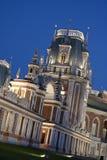 Tsaritsyno - il grande palazzo Fotografia Stock
