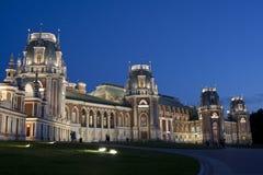 Tsaritsyno - il grande palazzo Immagine Stock