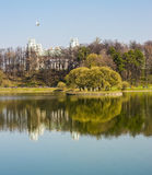 Tsaritsyno im April Stockbilder