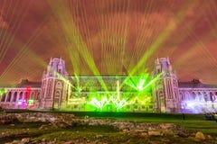 Tsaritsyno moscow Международный фестиваль круг света Стоковое Фото