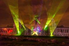 Tsaritsyno moscow Международный фестиваль круг света Стоковые Фото