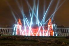 Tsaritsyno moscow Международный фестиваль круг света Стоковое фото RF