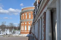 Tsaritsyno museum detaljer moscow Ryssland Royaltyfri Foto