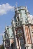 Tsaritsyno - o palácio grande Fotografia de Stock