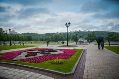 Tsaritsyno openbaar park in Moskou, Rusland stock afbeeldingen