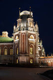 Tsaritsyno palace complex at night.Moscow. Stock Photography