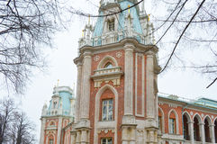 Tsaritsyno palace, Moscow landmark of Russian Empire times Royalty Free Stock Images