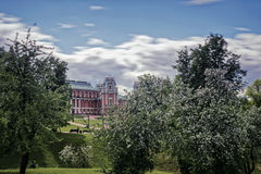 Tsaritsyno Palace Park. Moscow, Russia. 1775. Tsaritsyno Palace Park. Moscow, Russia. In 1775, the architect Vasily Bazhenov. The residence of the Russian Stock Images