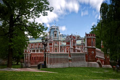 Tsaritsyno Palace Park. Moscow, Russia. 1775. Tsaritsyno Palace Park. Moscow, Russia. In 1775, the architect Vasily Bazhenov. The residence of the Russian Stock Photography