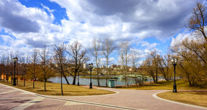 Tsaritsyno park Obraz Stock