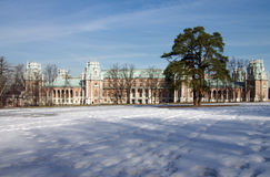 Tsaritsyno Park and Estate in Moscow Royalty Free Stock Image