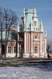 Tsaritsyno Park and Estate in Moscow Stock Photos