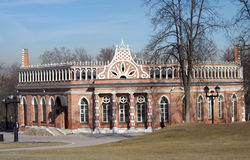 Tsaritsyno Park and Estate in Moscow Stock Photography
