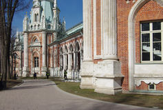 Tsaritsyno Park and Estate in Moscow Royalty Free Stock Images