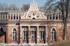 Tsaritsyno Park and Estate in Moscow Stock Photos
