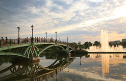Tsaritsyno park in Moscow Royalty Free Stock Images