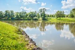 Tsaritsyno park Stock Image