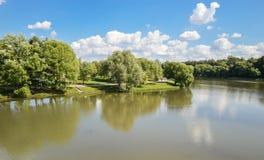 Tsaritsyno park Royalty Free Stock Photo