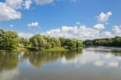Tsaritsyno park Royalty Free Stock Image