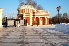 Tsaritsyno-Park in Moskau Stockfoto